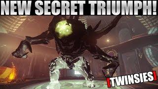 """New Secret Triumph Destiny 2 Forsaken! The Oracle Engine """"Twinsies"""" Triumph!"""