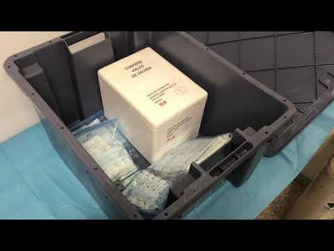 El INGESA recibe 545 dosis para vacunar contra la COVID-19 al personal sanitario de primera línea