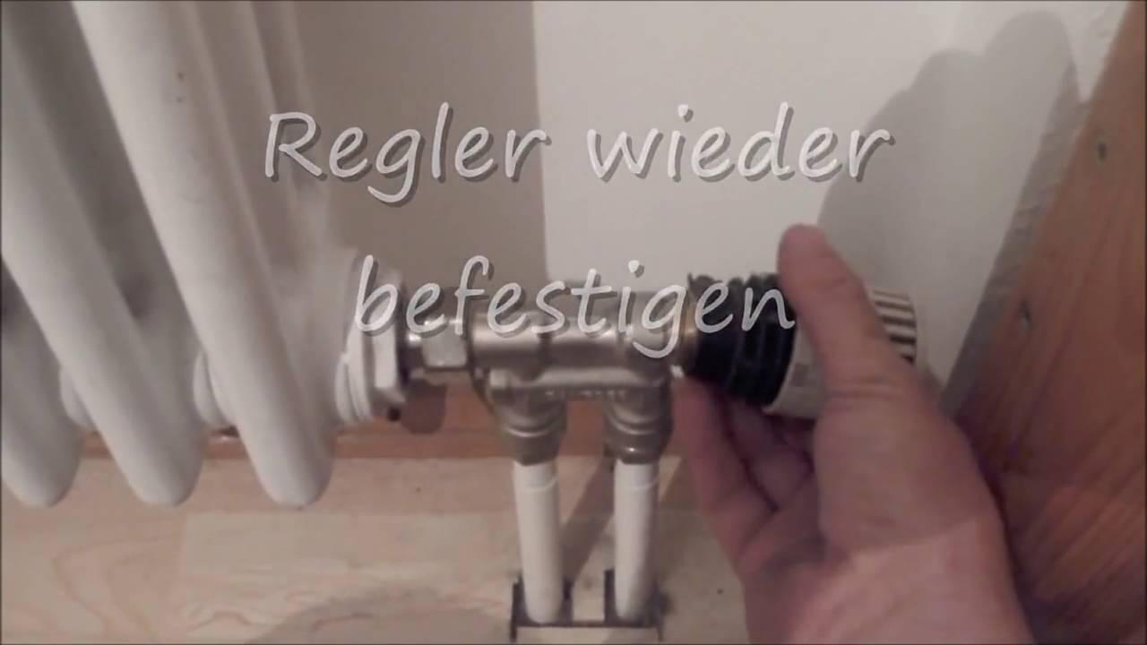 Bevorzugt Heizung Entlüften Oder Reparieren - YouTube JW98