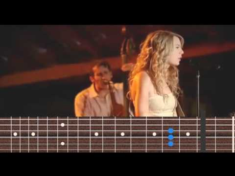 Taylor Swift - Crazier guitar chords