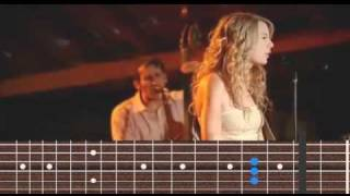 Taylor Swift - Crazier guitar chords