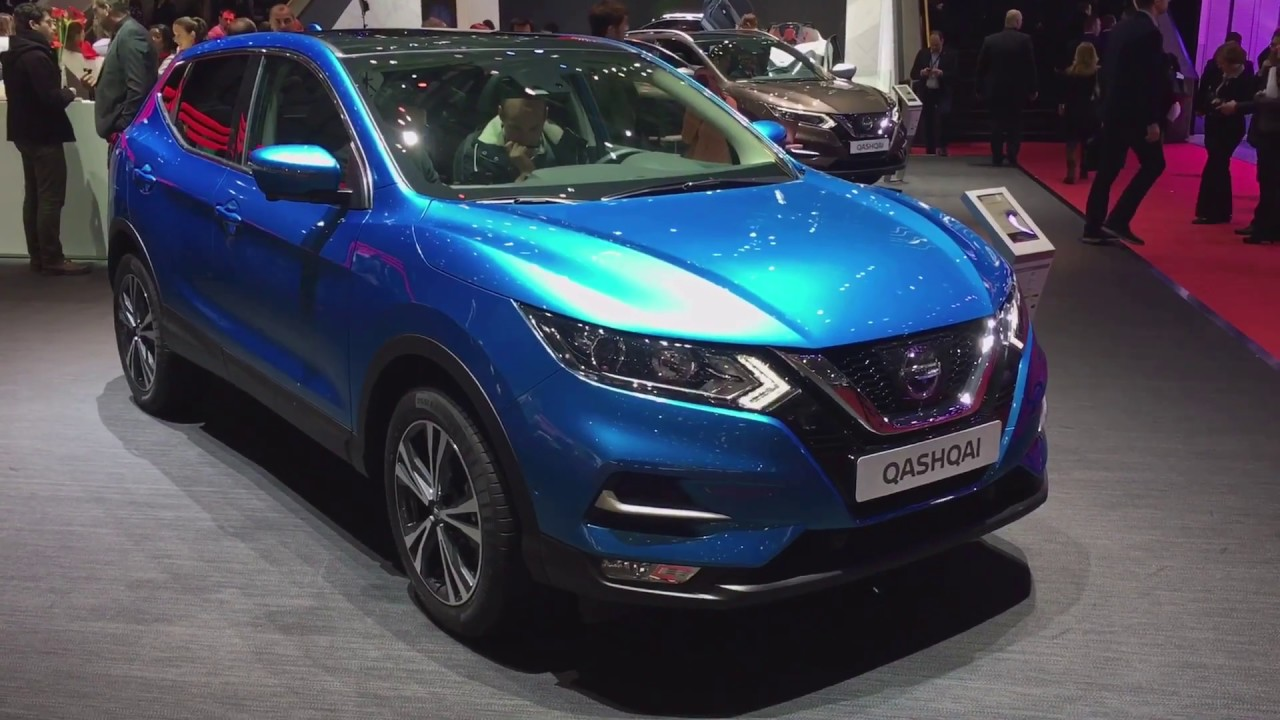2017 nissan qashqai facelift walkaround at geneva motor. Black Bedroom Furniture Sets. Home Design Ideas