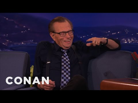 Larry King, Conan & Andy Split A Pot Brownie