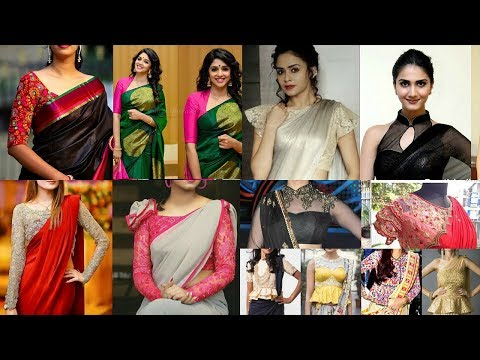 Blouse for body shapes | Basics of How to drape a saree | With love sindhu