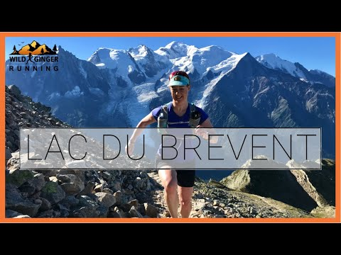 Running Lac du Brevent