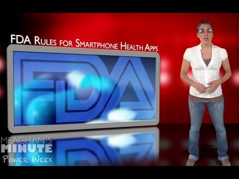 Meaghan's Minute: FDA Rules for Smartphone Health Apps