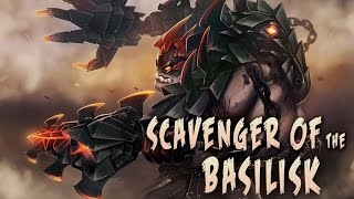 Dota 2 - Pudge Scavenger of the Basilisk Set