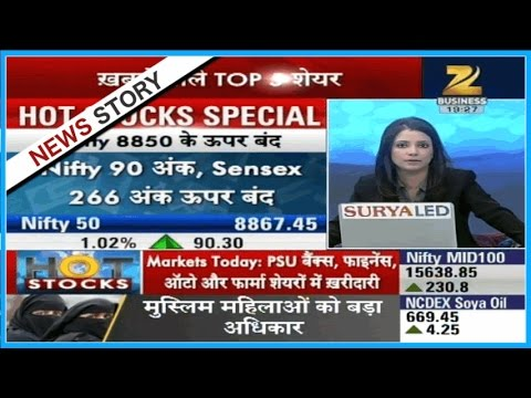 Hot Stocks   Market surges up with no rate hike by US Fed, Nifty closed with 90 points rise