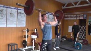 "#Тяжелаяатлетика ""Бицепс бедра в порядке, спасибо зарядке"" Weightlifting"