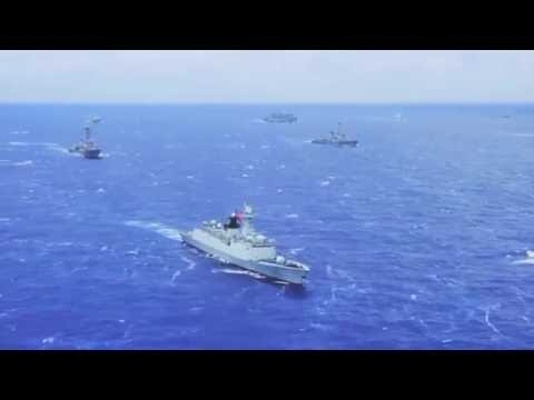 The World's largest Navy Exercise (Rimpac 2016)