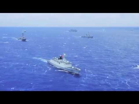 The World's largest Navy Exercise (Rimpac 2016)