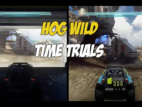Halo 5 | How Fast are the New Warthogs?? | Racing Warthogs and Time Trials!!