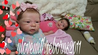 REVENGE OF REBORN BABY MOLLY! DOLL THAT TALKS AND WALKS! MOLLY BOSSES REAL BABY AROUND