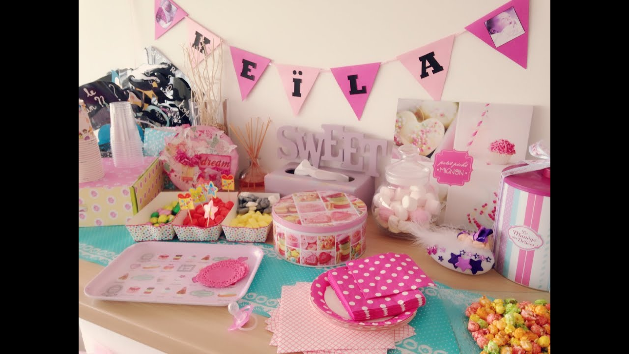 Idee Decoration Anniversaire  An Fille