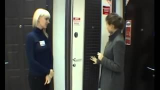 Покупатели выбирают стальные двери Торэкс.(Заказ дверей