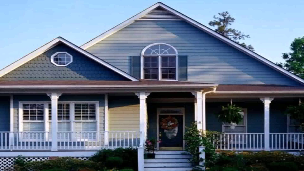 Ranch Style House Exterior Color Schemes