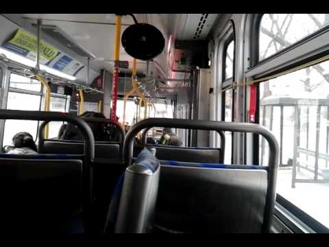 On the 208 bus to Golf Mill Mall