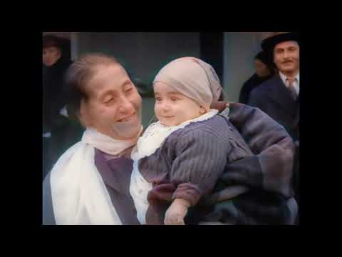 Ellis Island, a unique documentary about immigration into the USA, for the first time in color!