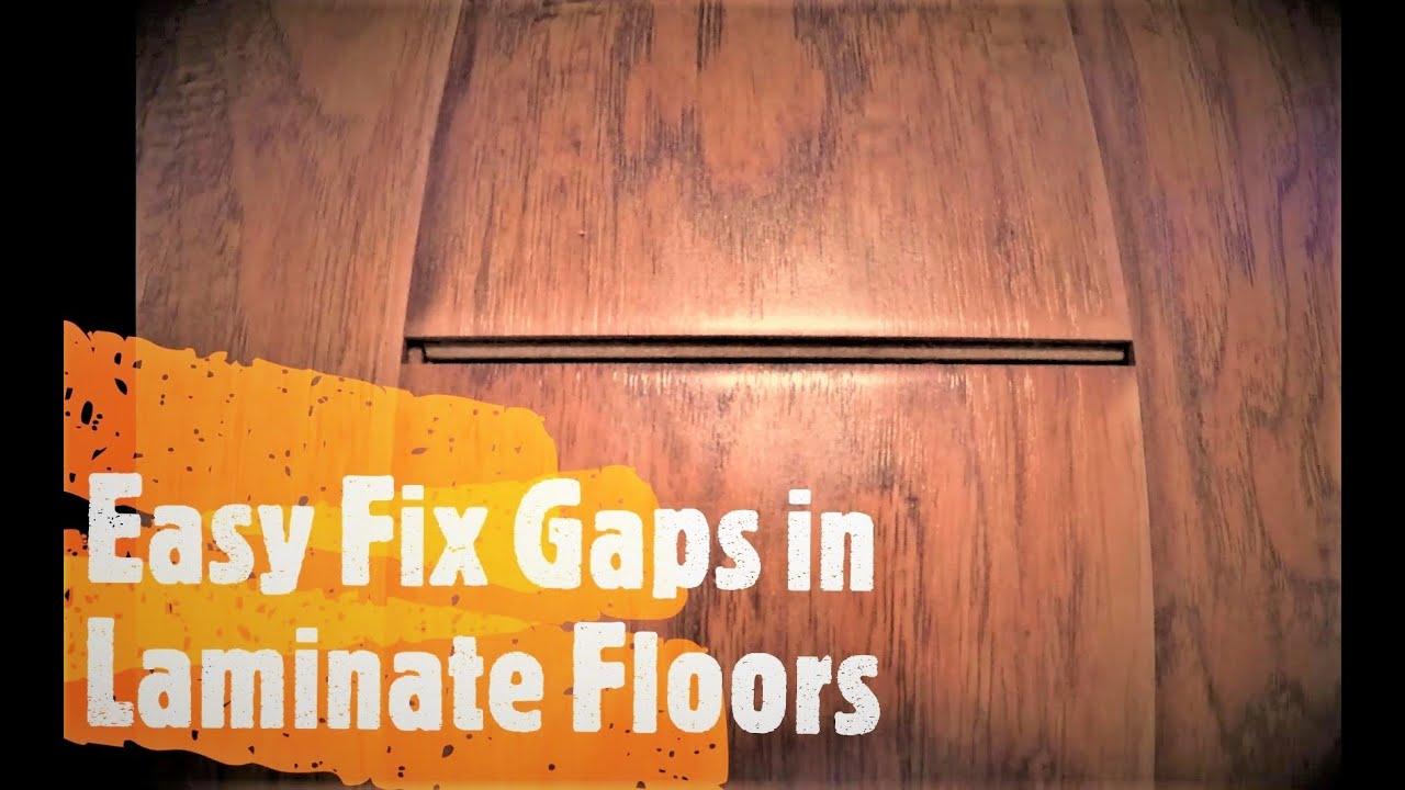 How To Fix Gaps In Laminate Floors, Repair Gaps In Laminate Flooring