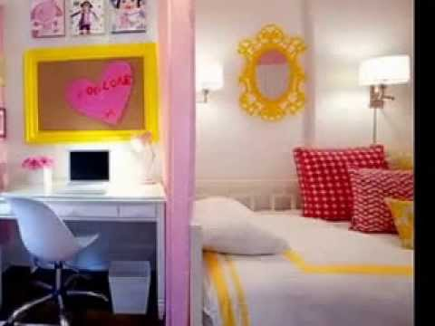 teenage bedroom decorating ideas for small rooms youtube