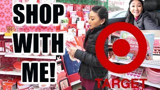 TARGET SHOP WITH ME! | Valentine's Day Shopping!
