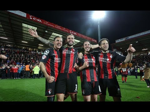 AFC Bournemouth 3 - 0 Bolton Wanderers Monday 27th April 2015