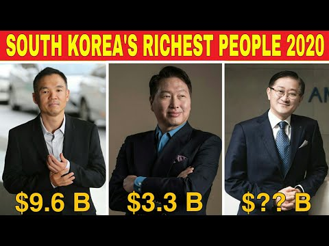 Top 10 Richest People in South Korea | The Richest People in South Korea in 2020 (Updated)
