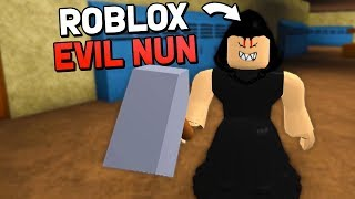 THE EVIL NUN INVADES ROBLOX! (Evil Nun Roblox Maps Gameplay)