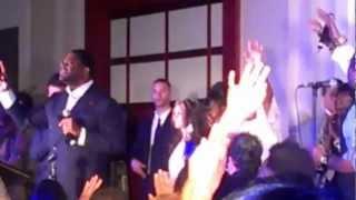 Pastor William H. Murphy III in Worship!