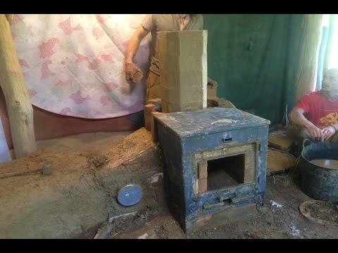 Permaculture et chauffage - Le Bact Box Rocket Stove des terre-pailleux!