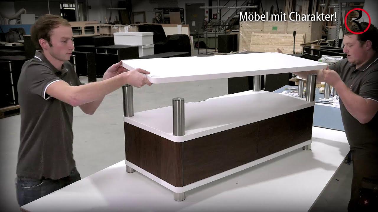 Roterring Möbelmanufaktur Tv Möbel Und Hifi Racks 2016 Youtube