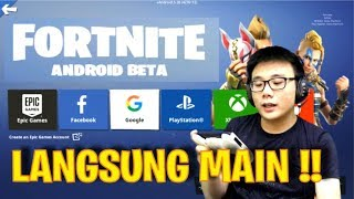 HOW TO DOWNLOAD APK FORTNITE ANDROID-TUTORIAL (English)