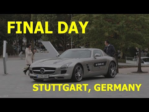 Final Day in Germany (Day 8) | Stuttgart to Frankfurt | Rental Car Review | Citroen C3