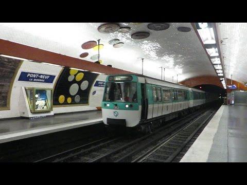 [Paris] MF77 Métro 7 - Pont Neuf