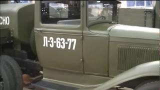 ГАЗ-ААА и ЗИС-106. Раритетные автомобили Советского Союза. GAZ-AAA and ZIS-106. Rare cars.