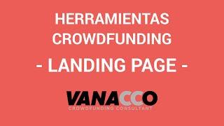 Tutorial: ¿Cómo detectar herramientas para tu crowdfunding? (Landing pages)