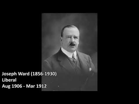 Prime Ministers of New Zealand 1856 - 2018