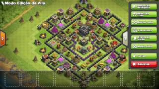 Bug Clash of Clans 24 de Maio 2016 (may, 24) Layout Editor