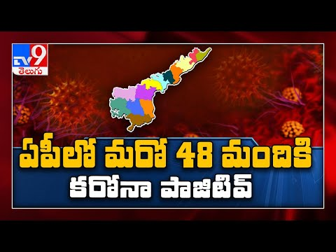 Covid 19 : Andhra Pradesh reports 48 new cases - TV9