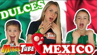 DULCES MEXICANOS El reto de las gummys picantes en MikelTube