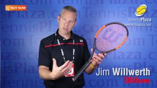 New Burn 100S Countervail Tennis Racquet Overview | Tennis Plaza