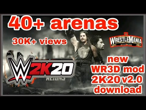 New WR3D mod 2K19 v2 0 download Wrestling Revolution 3D 2k19 Link mod 150  MB by WR3D