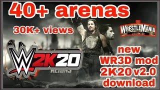New WR3D mod 2K19 v2 0 download Wrestling Revolution 3D 2k19
