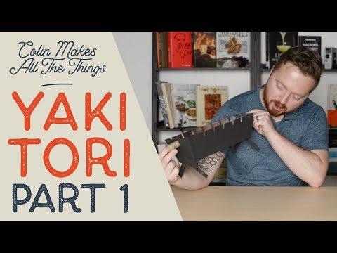 The Wonders of Yakitori PT. 1  //  Homemade DIY Yakitori Grill