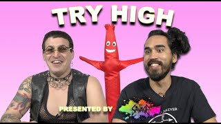 Two Guys Try The Weirdest Products on Amazon | TRY HIGH