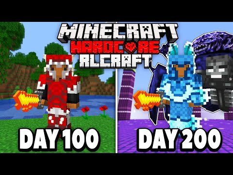 I Spent 200 days in HARDCORE RLCraft.. Here's What Happened..