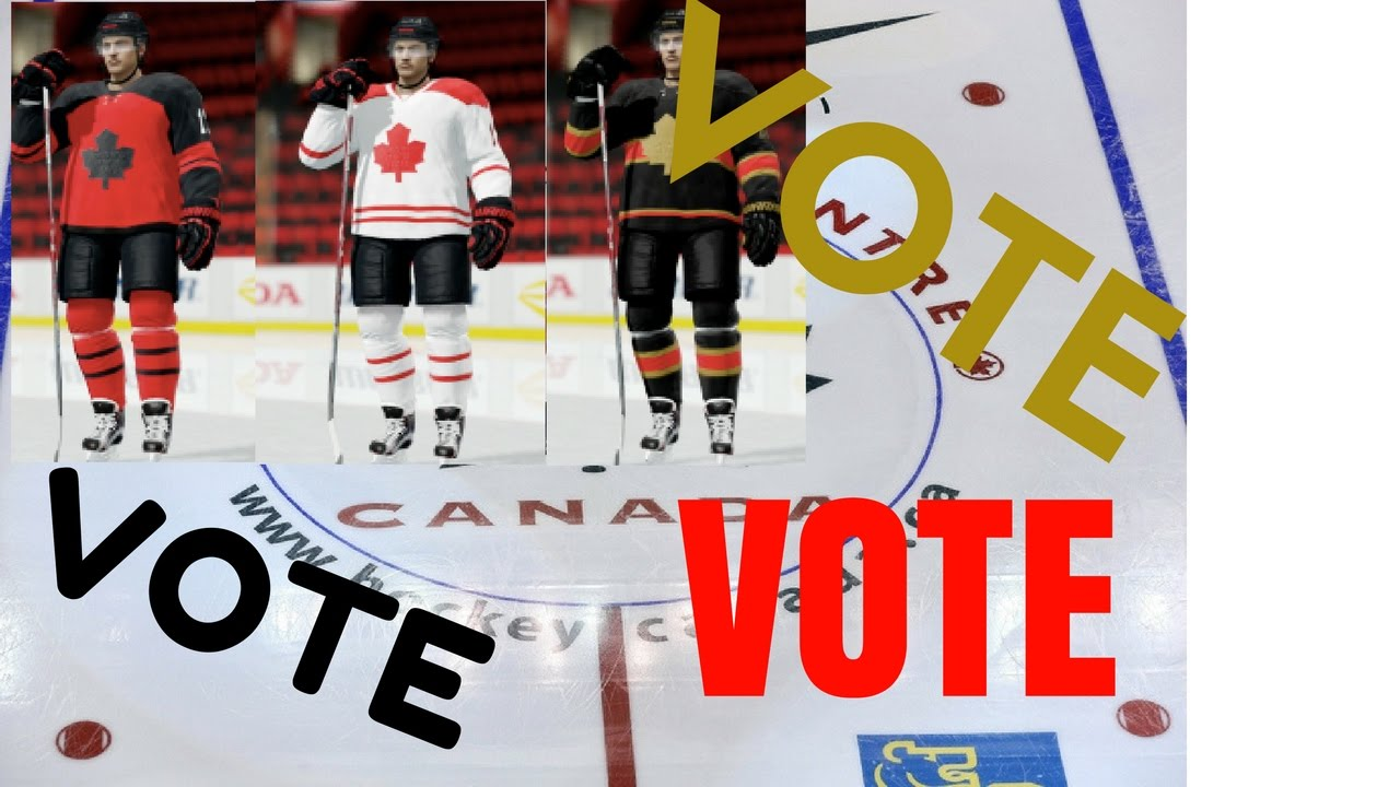 Vote On A Jersey World Junior Nhl 17 Custom Team Youtube