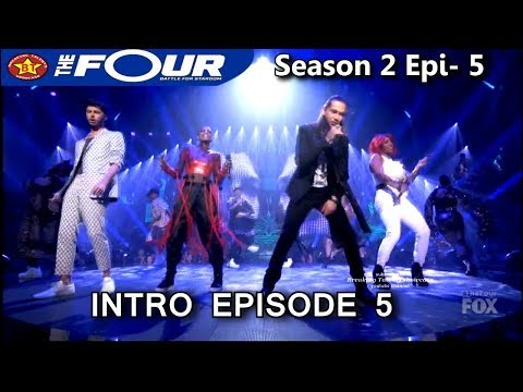 """The Four Episode 5 Intro """" I Can't Feel My Face"""" The Four Season 2 Ep. 5 S2E5"""