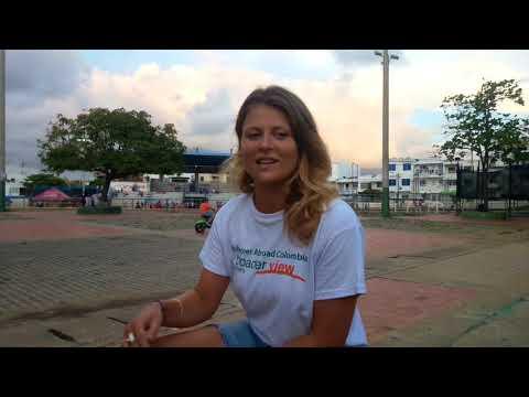 Volunteer Abroad Review Colombia Cartagena Rosalind Leech Woman Supoort Program - ABroader View