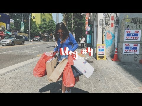 vlog #4 South Korea | MYEONGDONG & HONGDAE: Foodtrip, BTS &